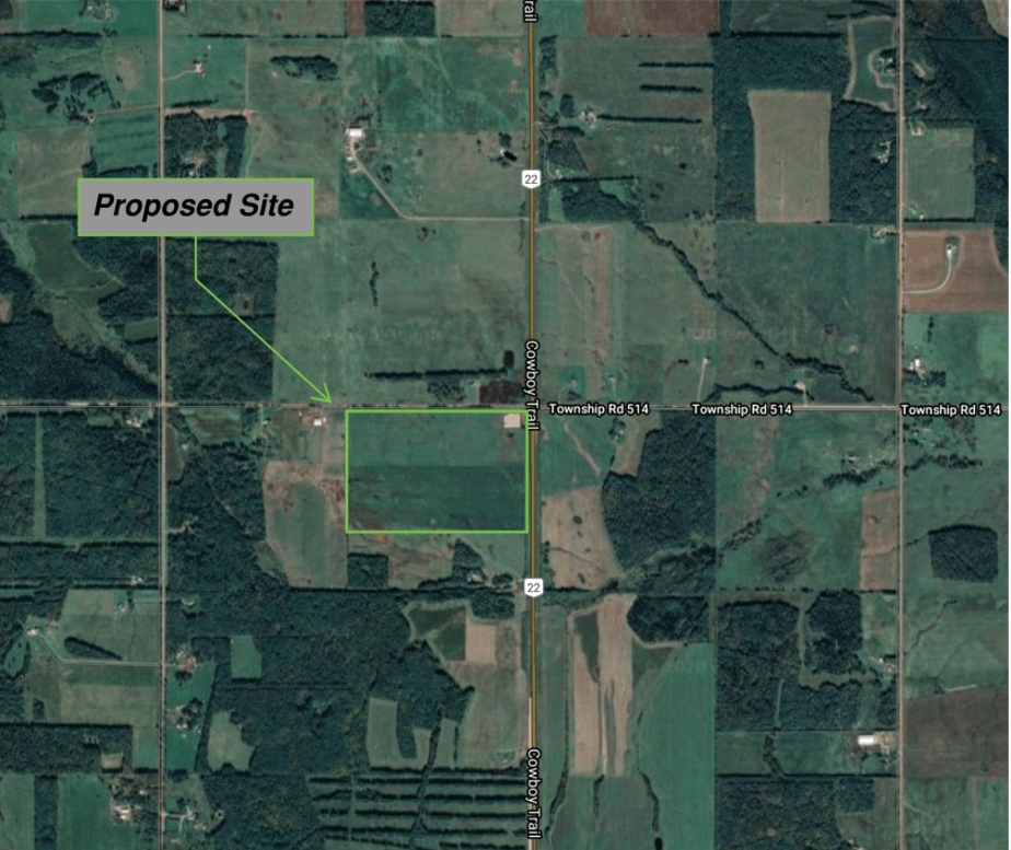 Proposed Moon Lake site